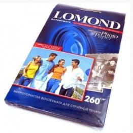 Фотобумага Lomond 10х15см, SuperGlossy, 260г, 1-ст., 500л (1103105)