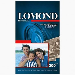 Фотобумага Semi-Glossy (Lomond) 10х15, 260г/м, 500л (1103303)