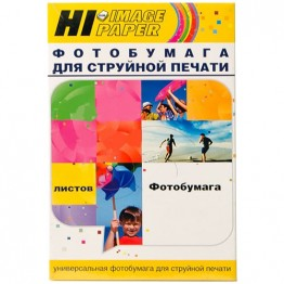 Фотобумага глянцевая односторонняя (Hi-Image Paper) 102х152, 170 г/м, 50 л.