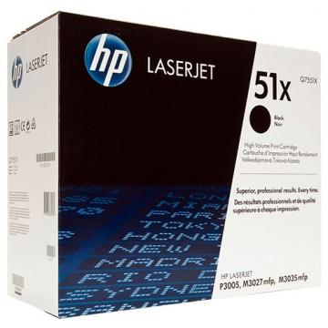 Картридж лазерный HP 51X, Q7551X