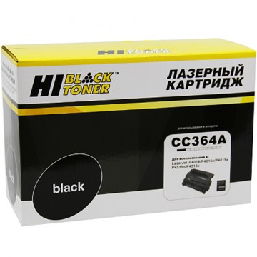 Картридж лазерный HP 64A, CC364A (Hi-Black)