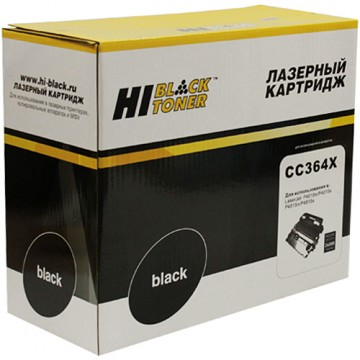 Картридж лазерный HP 64X, CC364X (Hi-Black)