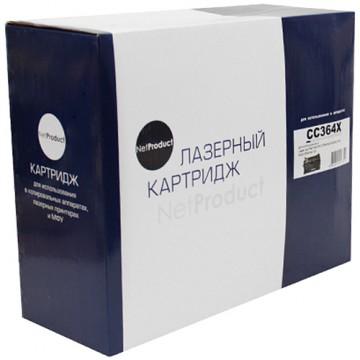 Картридж лазерный HP 64X, CC364X (NetProduct)