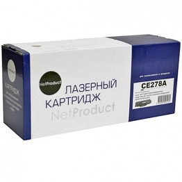 Картридж лазерный HP 78A, CE278A (NetProduct), пустой