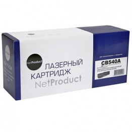 Картридж лазерный HP 125A, CB540A (NetProduct)