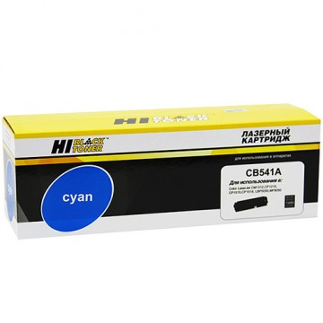 Картридж лазерный HP 125A, CB541A (Hi-Black)