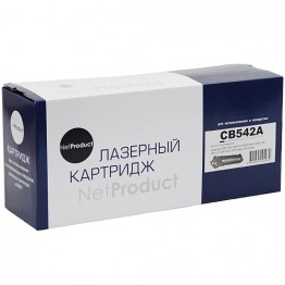 Картридж лазерный HP 125A, CB542A (NetProduct)