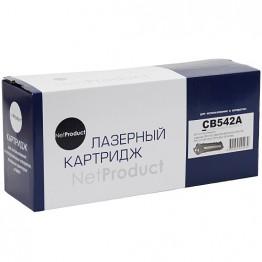 Картридж лазерный HP 125A, CB542A (NetProduct)