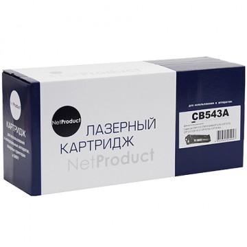 Картридж лазерный HP 125A, CB543A (NetProduct)