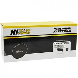 Картридж лазерный HP 124A, Q6000A, 707BK (Hi-Black)
