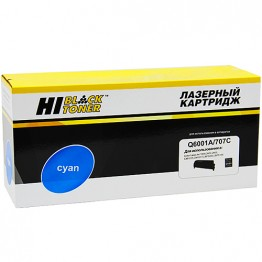 Картридж лазерный HP 124A, Q6001A, 707C (Hi-Black)