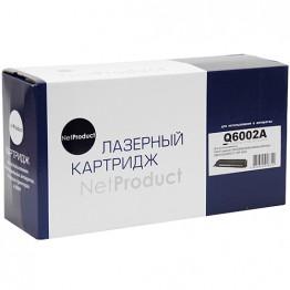 Картридж лазерный HP 124A, Q6002A (NetProduct)