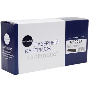 Картридж лазерный HP 124A, Q6003A (NetProduct)