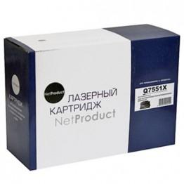 Картридж лазерный HP 51X, Q7551X (NetProduct)