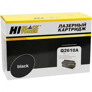 Картридж лазерный HP 10A, Q2610A (Hi-Black)