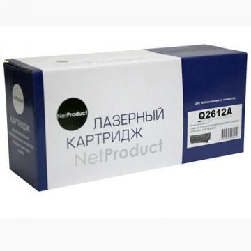 Картридж лазерный HP 12A, Q2612A (NetProduct)