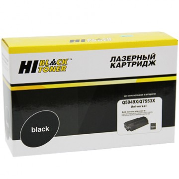 Картридж лазерный HP Q5949X/Q7553X (Hi-Black)