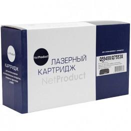 Картридж лазерный HP Q5949X/Q7553X (NetProduct)