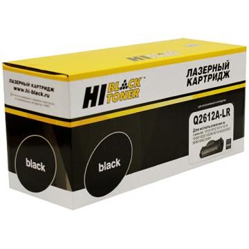 Картридж лазерный HP 12A, Q2612A-LR (Hi-Black), картридж+заправка