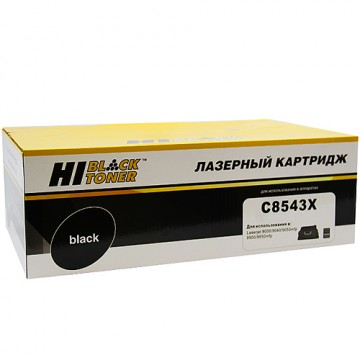 Картридж лазерный HP 43X, C8543X (Hi-Black)