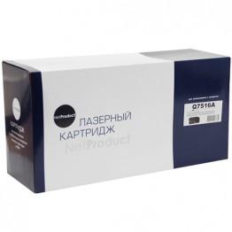 Картридж лазерный HP 16A, Q7516A (NetProduct)