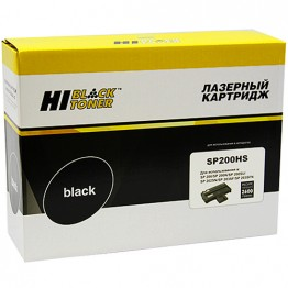 Картридж лазерный Ricoh SP200HS (Hi-Black)