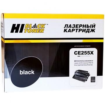 Картридж лазерный HP 55X, CE255X (Hi-Black)