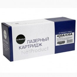 Картридж лазерный HP CB435A/CB436A/CE285A (NetProduct)