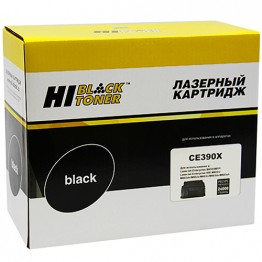 Картридж лазерный HP 90X, CE390X (Hi-Black)