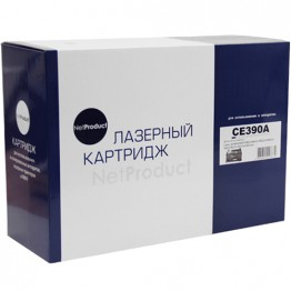 Картридж лазерный HP 90A, CE390A (NetProduct)