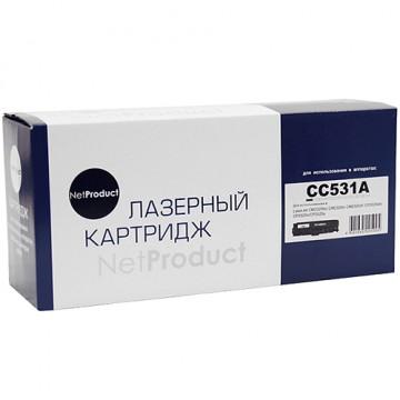 Картридж лазерный HP CC531A/718 (NetProduct)