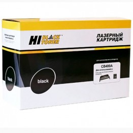 Картридж лазерный HP 642A, CB400A (Hi-Black)