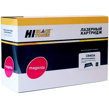 Картридж лазерный HP 642A, CB403A (Hi-Black)