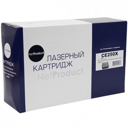 Картридж лазерный HP 504X, CE250X (NetProduct)