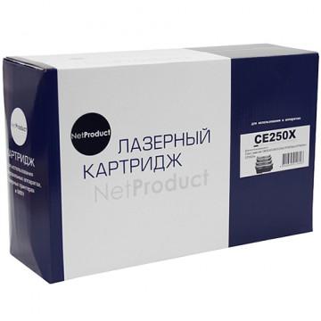 Картридж лазерный HP 504X, CE250X (NetProduct)
