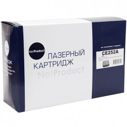 Картридж лазерный HP 504A, CE252A (NetProduct)
