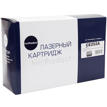 Картридж лазерный HP 504A, CE252A (NetProduct)