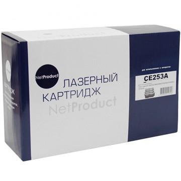 Картридж лазерный HP 504A, CE253A (NetProduct)