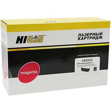 Картридж лазерный HP 504A, CE253A (Hi-Black)