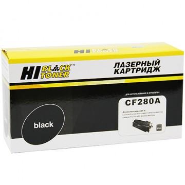 Картридж лазерный HP 80A, CF280A (Hi-Black)