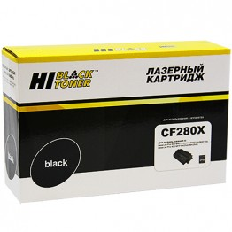Картридж лазерный HP 80X, CF280X (Hi-Black)