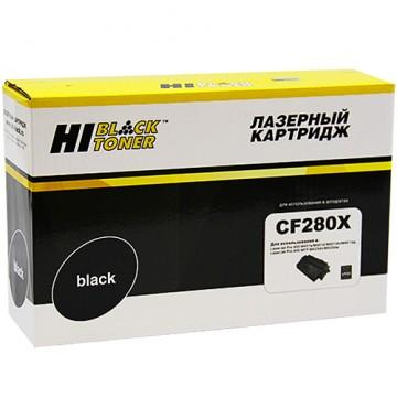 Картридж лазерный HP 80X, CF280X (Hi-Black)