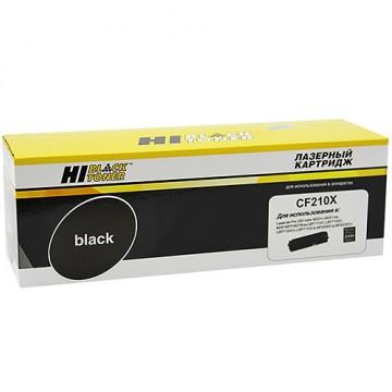 Картридж лазерный HP 131X, CF210X (Hi-Black)