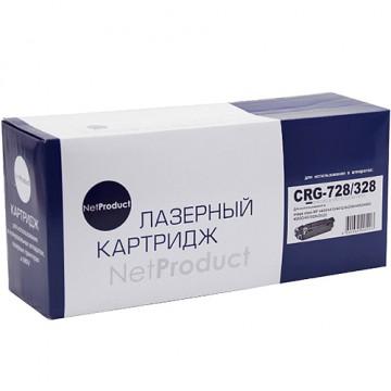 Картридж лазерный Canon 728/328, 3500B002 (NetProduct)