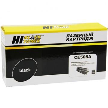 Картридж лазерный HP 05A, CE505A (Hi-Black)