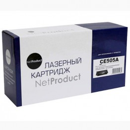 Картридж лазерный HP 05A, CE505A (NetProduct)