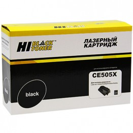 Картридж лазерный HP 05X, CE505X (Hi-Black)