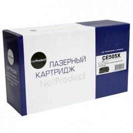 Картридж лазерный HP 05X, CE505X (NetProduct)