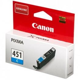 Картридж струйный Canon CLI-451C, 6524B001