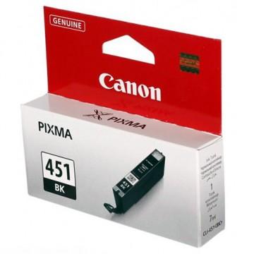 Картридж струйный Canon CLI-451BK, 6523B001
